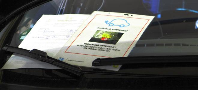 Abschaltprotokoll und Hinweis auf getrennte Batterie.