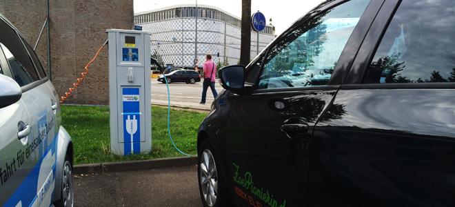 Endlich Strom in Leipzig