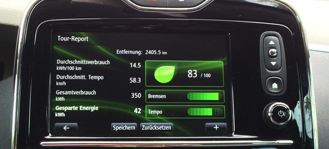 Energiefazit nach 2405,5 Kilometern